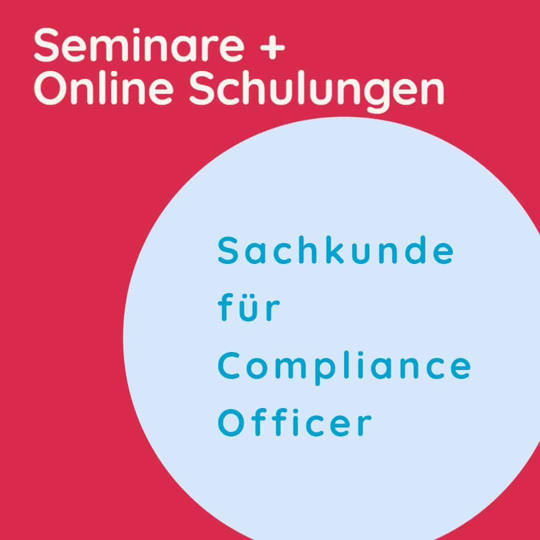 Seminare Compliance + Online Schulungen im Fokus der Bankenaufsicht