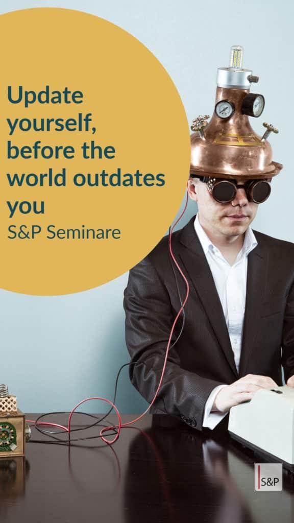 Brauchst du ein Update als Geschäftsführer? S&P Seminar